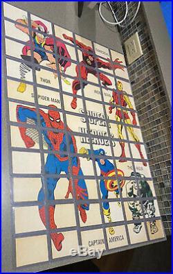 1966 Complete 66 Card Set Donruss Marvel Super-Heroes Spider-man Nice