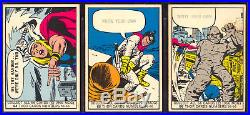 1966 DONRUSS MARVEL SUPER HEROES COMPLETE (66) TRADING CARD SET EX-NM + Wrapper
