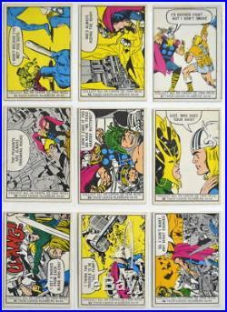 1966 DONRUSS MARVEL SUPER HEROES TRADING CARD Complete SET of 66 Cards