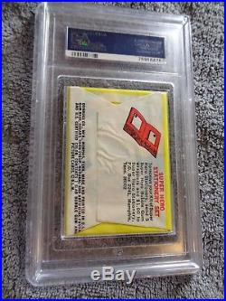 1966 Donruss Marvel Super Heroes Card Wax Pack Sealed Psa 8 Great Price Htf