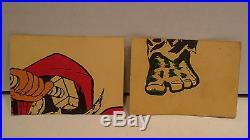 1966 Donruss Marvel Super Heroes Complete Set 66 Cards