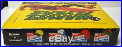 1966 Topps MARVEL FLYERS DISPLAY BOX w 10 UNOPENED PACKAGES / FLYERS Marvelmania