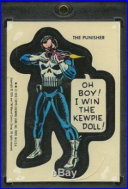 1976 Topps Marvel Super Heroes Original Production Art. The Punisher