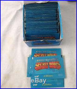 1984 Leaf Marvel Secret Wars Box Of Album Stickers