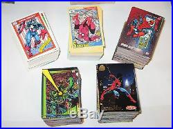 1990 1991 1992 1993 1994 Marvel Universe Complete Master Card Sets! 48 Inserts