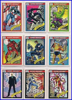 1990, 1991, 1992, 1993 Marvel Universe Complete Card Sets! (4 sets)