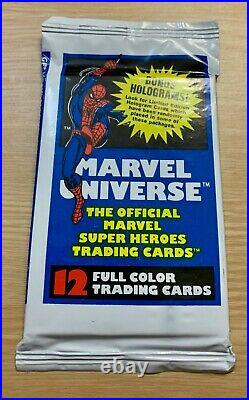 1990 IMPEL Marvel Universe Series 1 Trading Cards LOT OF 8 SEALED PACKS