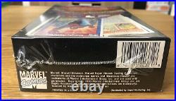 1990 Impel MARVEL UNIVERSE Series 1 Trading Cards FACTORY SEALED BOX 36 PACKS