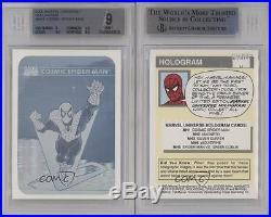 1990 Impel Marvel Comics Super Heroes #MH1 Cosmic Spider-Man BGS 9 MINT Card k4g