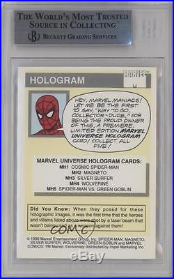 1990 Impel Marvel Comics Super Heroes #MH5 Spider-Man vs Green Goblin BGS 9 k4g