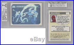 1990 Impel Marvel Comics Super Heroes #MH5 Spider-Man vs Green Goblin Card k4g