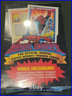 1990 Impel Marvel Universe SERIES 1 Trading Cards 36 Packs FACTORY SEALED BOX
