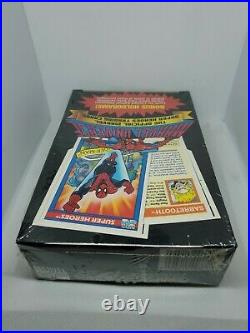 1990 Impel Marvel Universe Series 1 Factory Sealed Trading Card Box 36 Packs