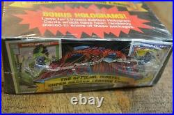 1990 Impel Marvel Universe Trading Cards Factory Sealed Box 36 Packs Series 1