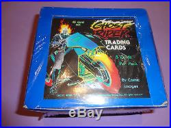 1990 Marvel Ghostrider Ghost Rider Series #1 One Factory Sealed Box Super Rare