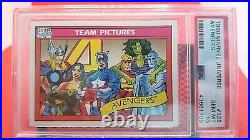 1990 Marvel Universe Avengers PSA 10 GEM MINT #138 (trading card)