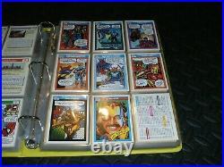 1990 Marvel Universe Series 1 & 2 Trading Cards COMPLETE BASE SETs #1-162 plus