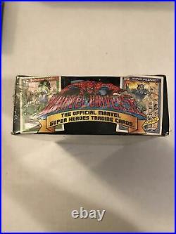 1990 Marvel Universe Series 1 Sealed Trading Card BOX 36 PACKS Bonus Holograms