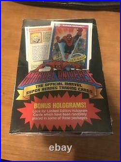 1990 Marvel Universe Series 1 Trading Cards BOX of 36 SEALED PACKS