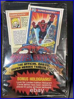 1990 Marvel Universe Series 1 Trading Cards SEALED BOX of 36 SEALED PACKS