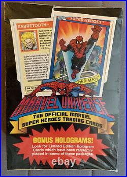 1990 Marvel Universe Series 1 Trading Cards Sealed Box
