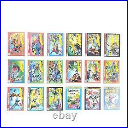 1990 Marvel Universe Trading Card Complete Base Set 1-162 Impel Stan Lee