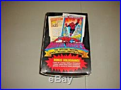 1990 Marvel Universe Trading Cards Box with Bonus Holograms 36 Packs Sealed Marvel