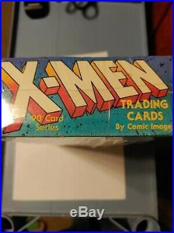 1991 Comic Images Marvel X-Men Autograph Series Factory sealed card box Jim Lee