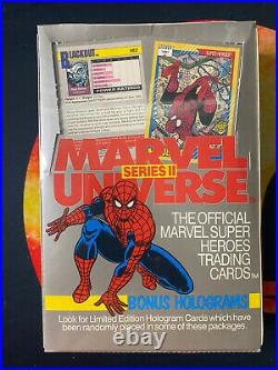 1991 Impel Marvel Universe Series 2 Trading Card Box! Factory Sealed