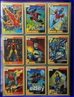 1991 Impel Marvel Universe Series 2 Trading Card set Base 162 card set -@-@