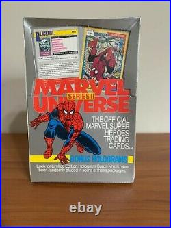 1991 Impel Marvel Universe Series 2 Trading Cards Factory Sealed Box
