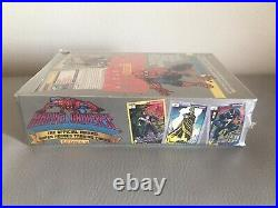 1991 Impel Marvel Universe Series Two 2 Trading Cards Sealed Box 36 Packs Qty