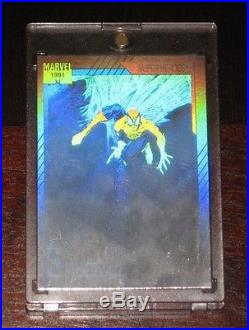 1991 Marvel Universe II STAN LEE Signed/Autograph Spider-Man H-1 Hologram RARE