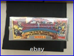 1991 Marvel Universe Series 2 Trading Card Box BRAND NEW Factory Sealed