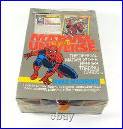 1991 Marvel Universe Trading Card Box Series 2 Sealed (36 Packs)