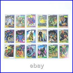 1991 Marvel Universe Trading Card Complete Base Set 1-162 Infinity Guantlet