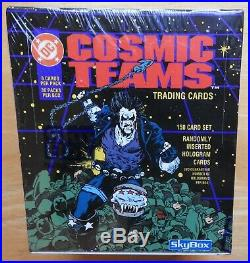 1992, 1993 Marvel Masterpieces & Universe, X-Men, DC Cosmic Teams 5 SEALED BOXES