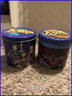 1992/93 Impel X-Men Series 1 & 2 Trading Cards Tin Sets. Holograms, Foils. Marvel