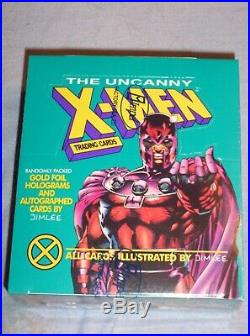 1992 Impel Marvel Uncanny X-Men Card Box Sealed GREEN MAGNETO! JIM LEE AUTO