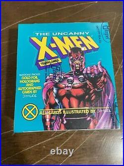 1992 Impel Marvel Uncanny X-Men Trading Cards Factory Sealed Box Magneto