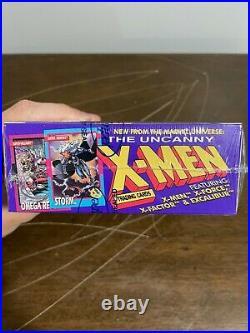 1992 Impel Marvel Uncanny X-Men Trading Cards Factory Sealed Box Wolverine
