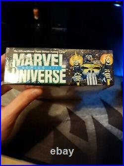 1992 Impel Marvel Universe Series 3 Trading Cards SEALED BOX of 36 packs CASE