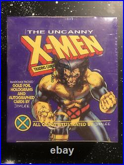1992 Impel The Uncanny X-Men Trading Cards Wolverine Purple In Sealed Box
