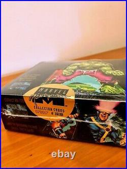 1992 Marvel Masterpiece Comic Trading Cards Box NEW! 36 Packs Joe Jusko SkyBox