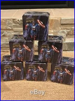 1992 Marvel Masterpieces Complete 6 Tin Full Case Factory Sealed MASTER SETS