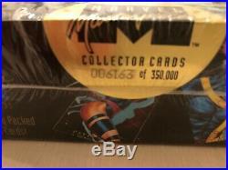 1992 Marvel Masterpieces Factory Sealed Box Low Serial #6163 Joe Jusko Art