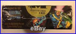 1992 Marvel Masterpieces Hobby box Joe Jusko art