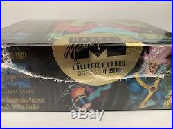 1992 Marvel Masterpieces Sealed Trading Cards Box