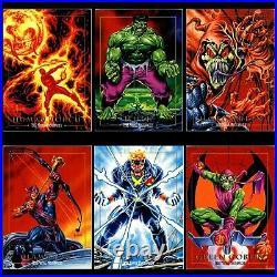 1992 Marvel Masterpieces SkyBox Trading Cards Sealed Box 1st Series Joe Jusko