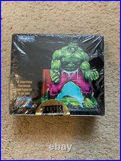 1992 Marvel Masterpieces Trading Cards SEALED BOX 36 Packs! Joe Jusko SkyBox